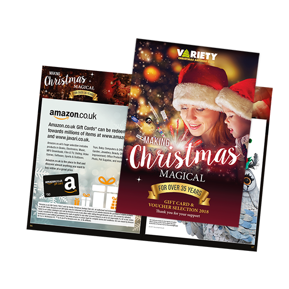 2018 Gift Card and Voucher Selection Brochure