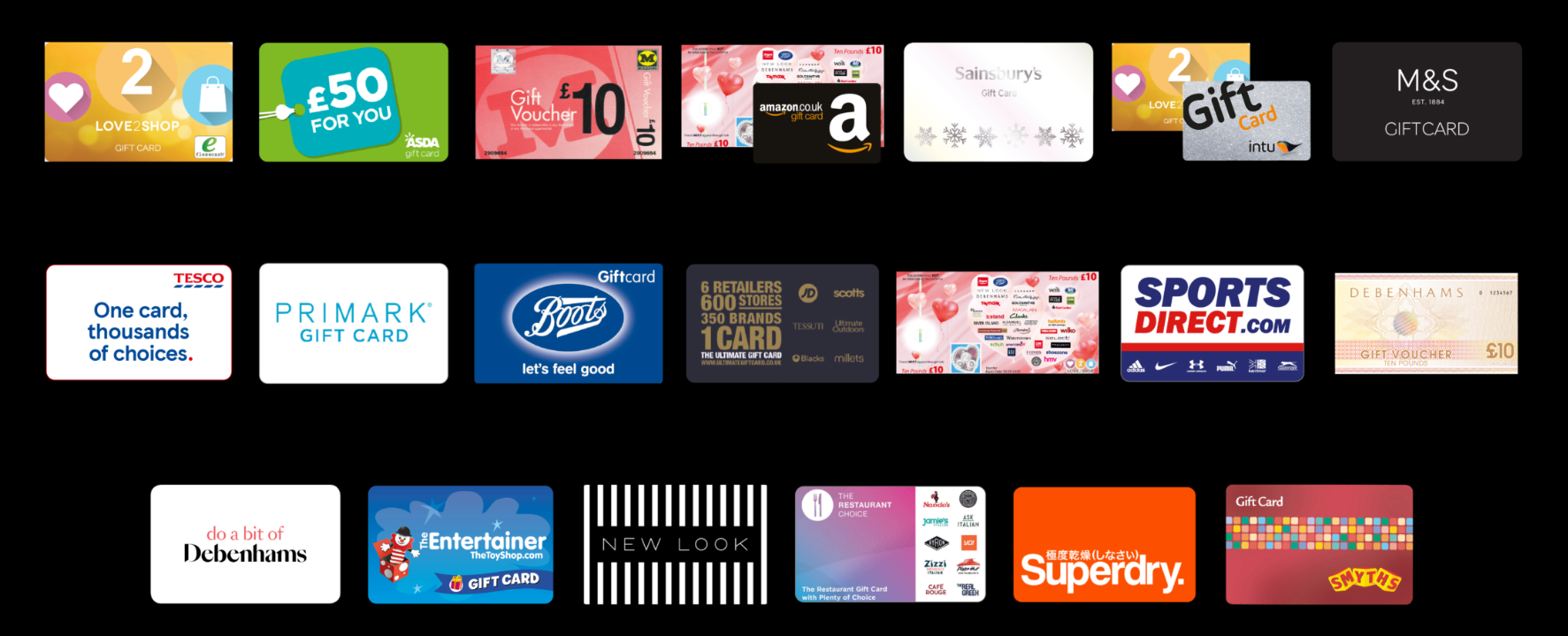 Christmas Voucher Range Variety Savings Club Parallel Lights Click For Details Whether You Decide To Become An Individual Saver Or Agent Will Be Able Choose Exactly Which Gift Cards And Vouchers Want The Quantities