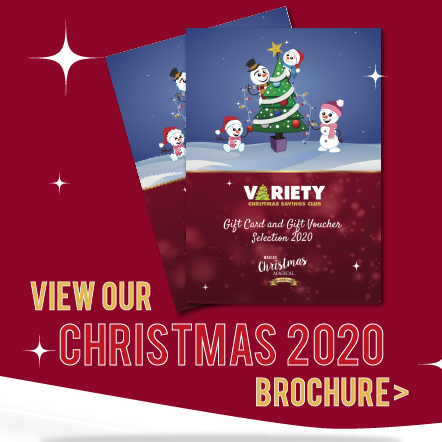 2020 Gift Card and Voucher Selection Brochure